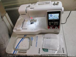 """Brother PE550D 4""""x4 Disney Embroidery Machine ($357 Retail)"""