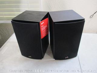 Polk - T15 100W Bookshelf Speakers, Set of 2