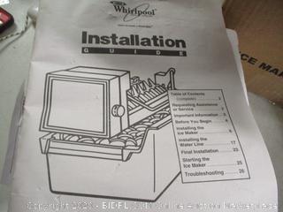 Whirlpool Ice-maker W10190965 WPW10190965