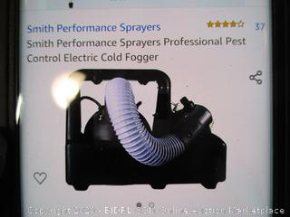 Smith Performance Sprayer - Professional Pest Control Electric Cold Fogger
