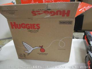 Huggies- Special Delivery Diapers- Size 3- 2 Packages of 58