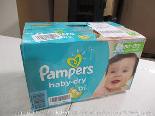Pampers- Baby Dry Diapers- Size 2- 112 Ct Box ( Sealed Bags)