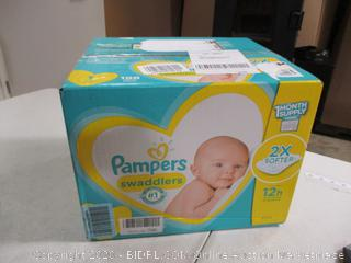 Pampers- Swaddlers- Diapers- Size 1- 198 Ct Box (Sealed Bags)