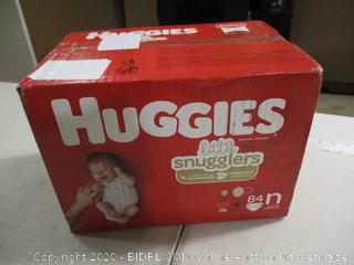 Huggies - Little Snugglers - Newborn, 84 Count (Sealed)