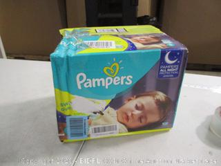 Pampers - Swaddlers Overnights, Size 5 (Sealed)