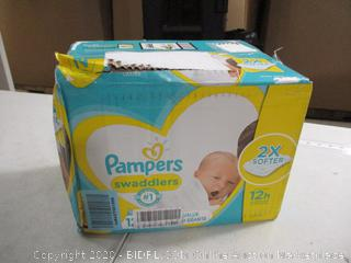 Pampers - Swaddlers - Newborn, 120 Count (Sealed)
