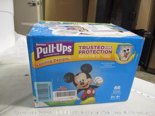Huggies - Pull Ups - 3T-4T, 66 Count (Sealed)