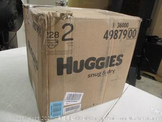 Huggies- Snug & Dry Diapers- Size 2- 228 Ct Box ( Sealed Bags)