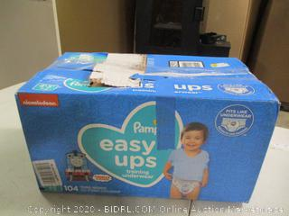 Pampers- Easy Ups- Training Underwear- 4T-5T (one bag open)