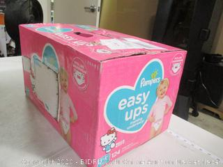 Pampers- Easy Ups- Training Underwear- 3T-4T- Hello Kitty -124 Ct Box (Sealed Bags)