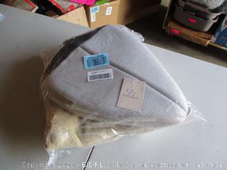 "Best Pet SuppliesPet Tent-Soft Bed for Dog and Cat by Best Pet Supplies - Brown Linen, 19"" x 19"" x H:19"""