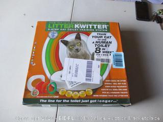 Litter Twitter Cat Toilet Training System