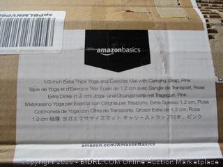 Amazon Basics Extra Thick Yoga & Exercise Mat