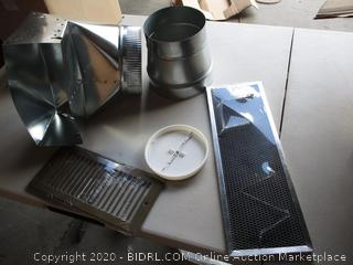 Broan Non Duct Recirculation Kit for PM390 Power Pack Range Hood Insert (RETAIL $75)