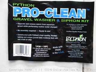 Python Pro-Clean Gravel Washer $ Siphon Kit
