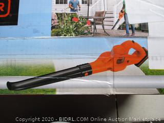 BLACK+DECKER 20V MAX Lithium Sweeper (LSW221) (RETAIL $88)
