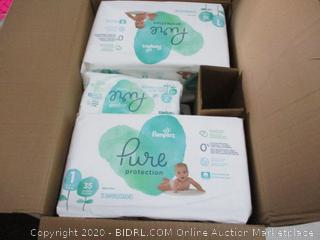 Pampers Pure Protection Diapers and Wipes
