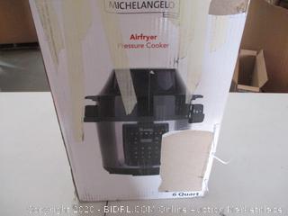 Michael Angelo Airfryer Pressure Cooker (Retail Price $143.99)