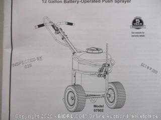 Chapin 12 Gallon Battery Operated Push Sprayer (Retail Price $319.99)