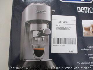 Delonghi Bar Pump Expresso Machine (Retail Price $254)