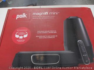 Polk Audio MagniFi Mini Home Theater Surround Sound Bar (Retail Price $215)