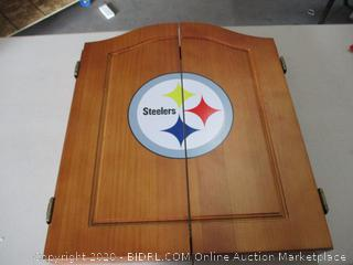 Imperial Officially Licensed NFL Merchandise: Dart Cabinet Set, Dartboard and Darts (RETAIL$200)