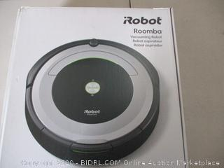 iRobot Roomba 690 Robot Vacuum-Wi-Fi Connectivity, Works with Alexa, Good for Pet Hair, Carpets, Hard Floors, Self-Charging (RETAIL $221)