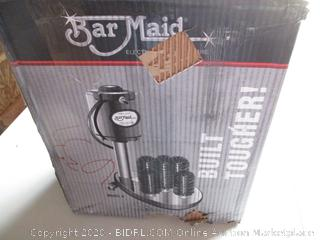 Bar Maid A-200 Upright 5-Brush Electric Glass Washer (RETAIL $375)