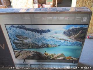 Samsung UN65RU7100FXZA Flat 65-Inch 4K UHD 7 Series Ultra HD Smart TV with HDR and Alexa Compatibility (2019 Model) (RETAIL $ 700)