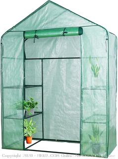 YOUKE Walk-in Greenhouse PE Cloth Cover Garden House Succulent Plants Flowers Green Plant Insulation Family