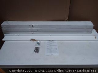 wallniture Denver set of 4 wall mount storage shelves (all have chipped sides)