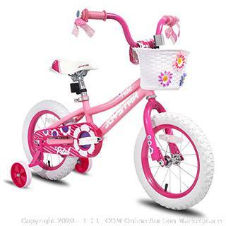 joystar 12 in pedestal bike pink child's bike ages 2 to 4