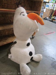 Giant Frozen Olaf Plush