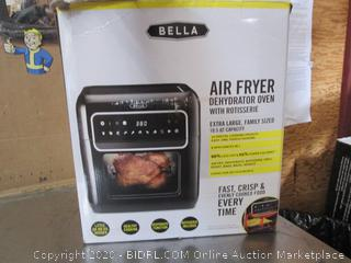 Bella Air Fryer Dehydrator Oven