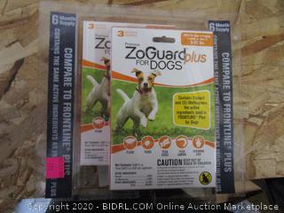 ZoGuard Plus for Dogs, 5-22# : Flea & Tick Treatment