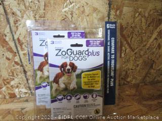 ZoGuard Plus for Dogs, 23-44# : Flea & Tick Treatment