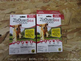 ZoGuard Plus for Dogs, 45-88# : Flea & Tick Treatment
