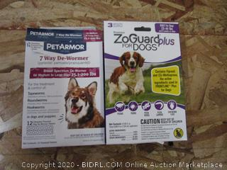 ZoGuard Plus for Dogs, Pet Armor De-Wormer