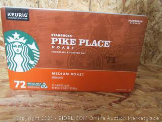 Keurig Hot Starbucks Pike Place Coffee K-Cups