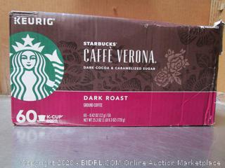 Keurig Starbucks Caffe Verona Coffee K-Cups