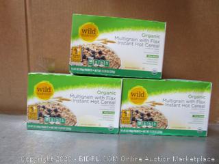 Wild Harvest Organic Multigrain Flax Instant Hot Cereal