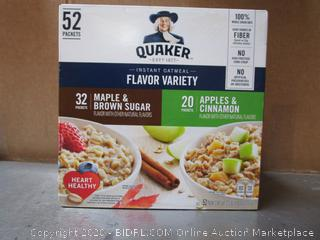 QuakerFlavor Variety Instant Oatmeal
