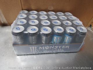Case of 16fl oz Monster Energy Zero Sugar