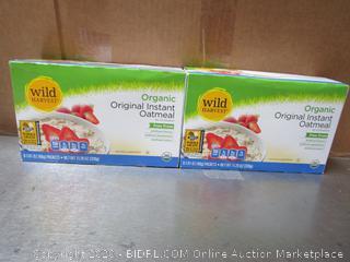 Wild Harvest Organic Original Instant Oatmeal