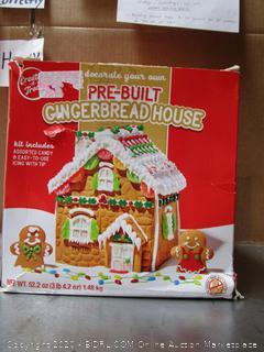 Pre-Built Gingerbread House