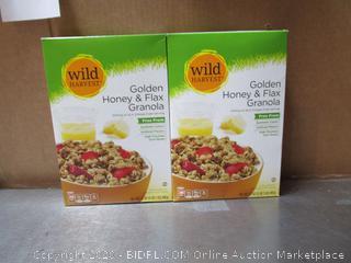 Wild Harvest Golden Honey Flax Granola