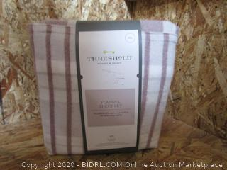 Threshold Flannel Sheet Set
