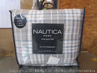 Nautica Home King Quilt