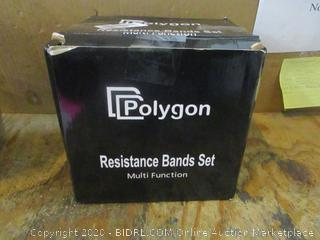 Polygon Resistance Band Set MUlti Function