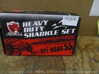 Heavy Duty Shackle set